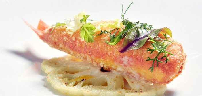 Red Mullet at the Lefay Resort and Spa