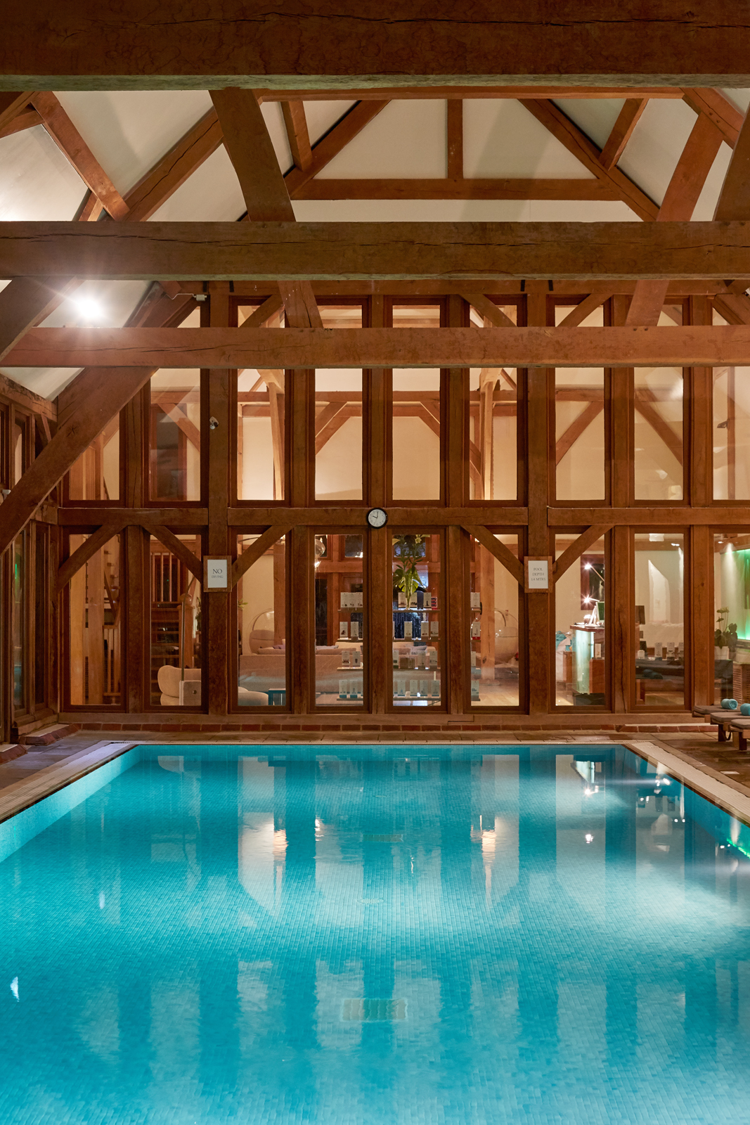 Bailiffscourt Spa indoor pool